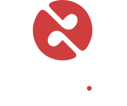 logo reading fm web white